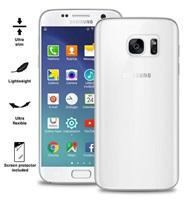 """Puro zadní kryt pro Samsung Galaxy S7 ULTRA-SLIM """"0.3"""" s fólií na displej, transparentní"""