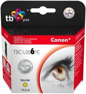 Ink. kazeta TB kompat. s Canon BCI-6Y Yellow