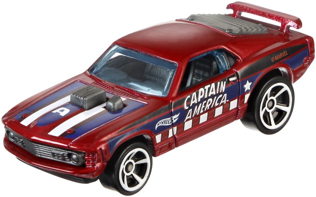 Hot Wheels angličák Captain America