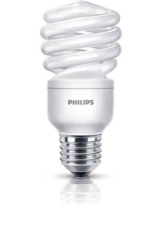 PHILIPS ECONOMY TWISTER 15W WW E27 220-240V 1PF/6