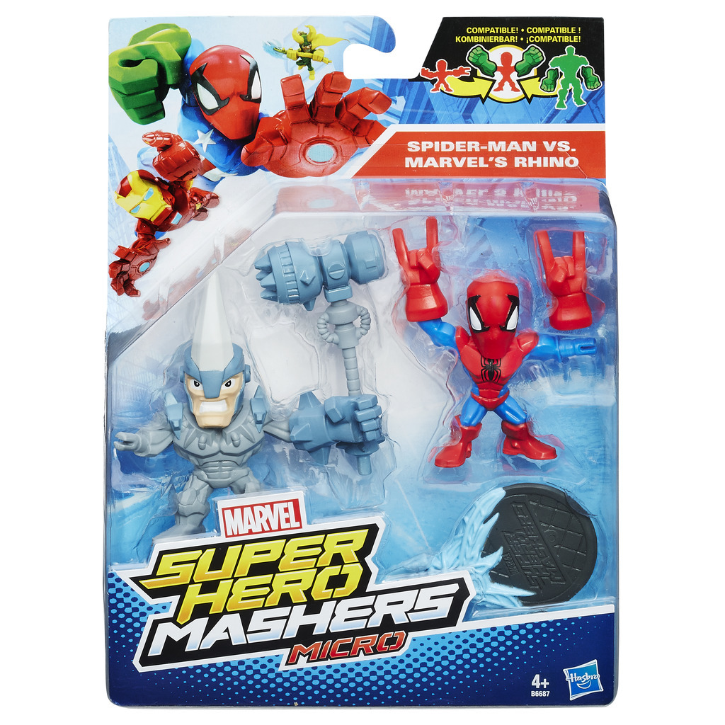 Avengers - Micro Hero Mashers dvojbalení