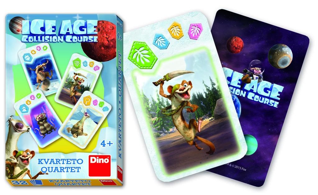 Karty kvarteto - Doba ledová 5