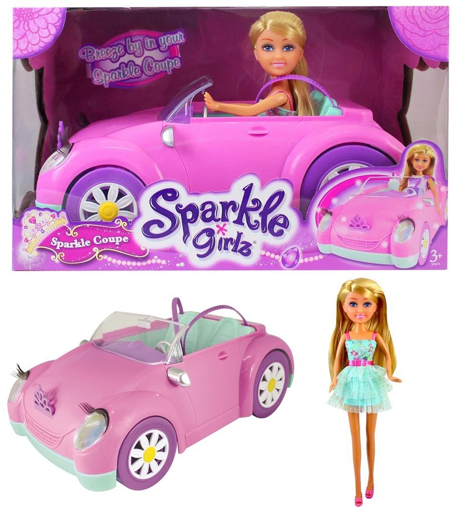Panenka Sparkle Girlz v autíčku