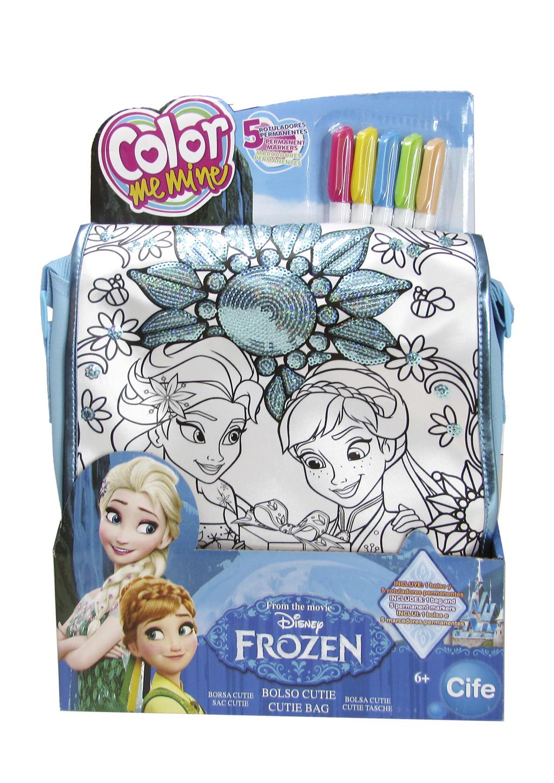 Color me mine modrá kabelka Ledové království