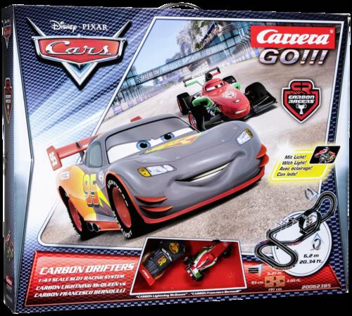 Carrera GO!!! Disney/Pixar Carbon Drifters 62385