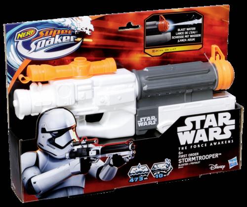 Nerf Star Wars Super Soaker Villain Trooper Blaster