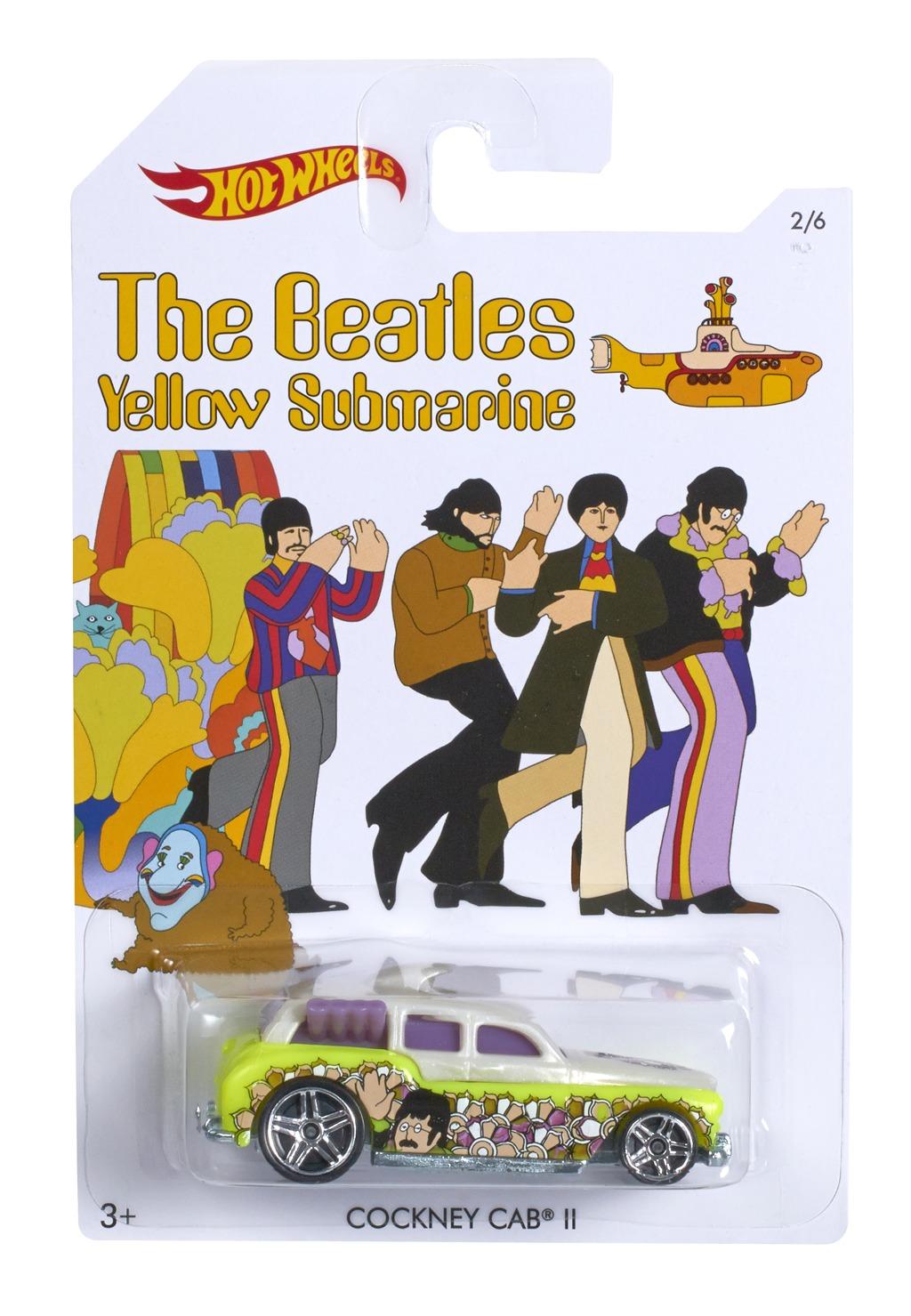 Hot Wheels angličák the Beatles