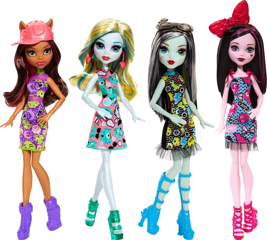 Monster High příšerka