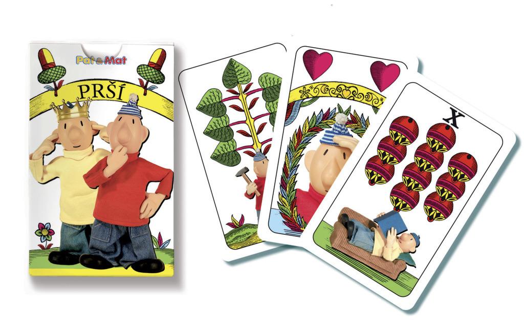 Dětské prší karty - Pat a Mat