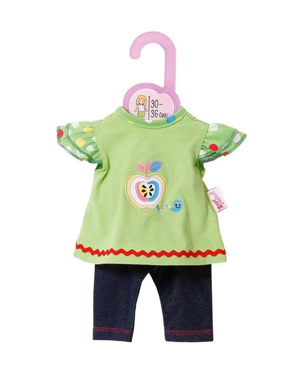 Dolly Moda Šatičky s legínami 30-36 cm