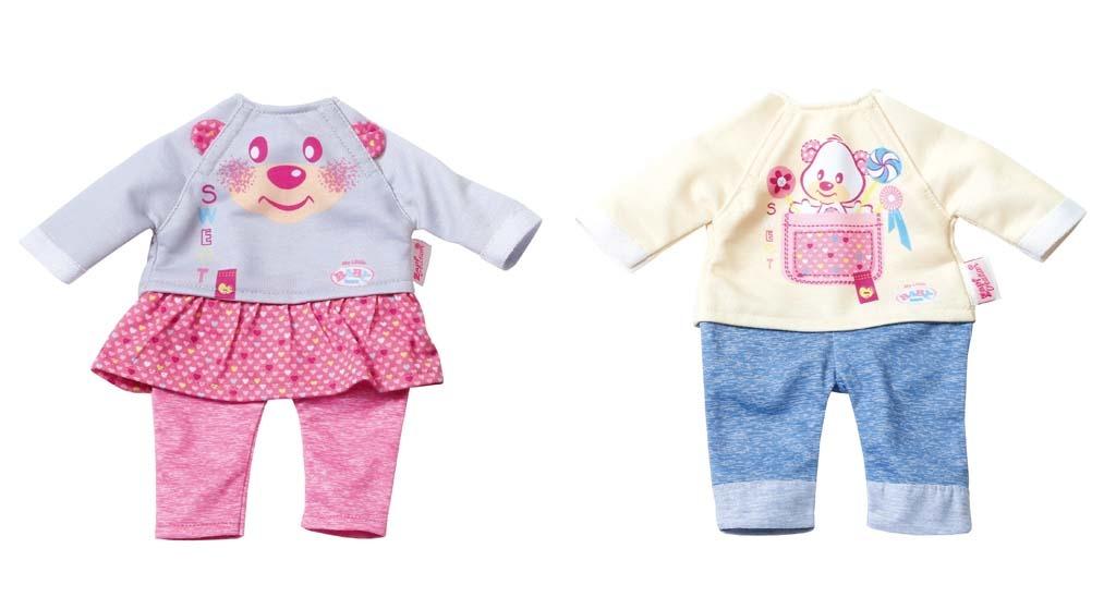 My Little BABY born® Oblečení easy FIT, 2 druhy