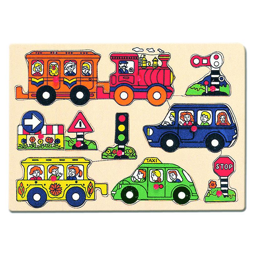 Dřevěné Puzzle - doprava