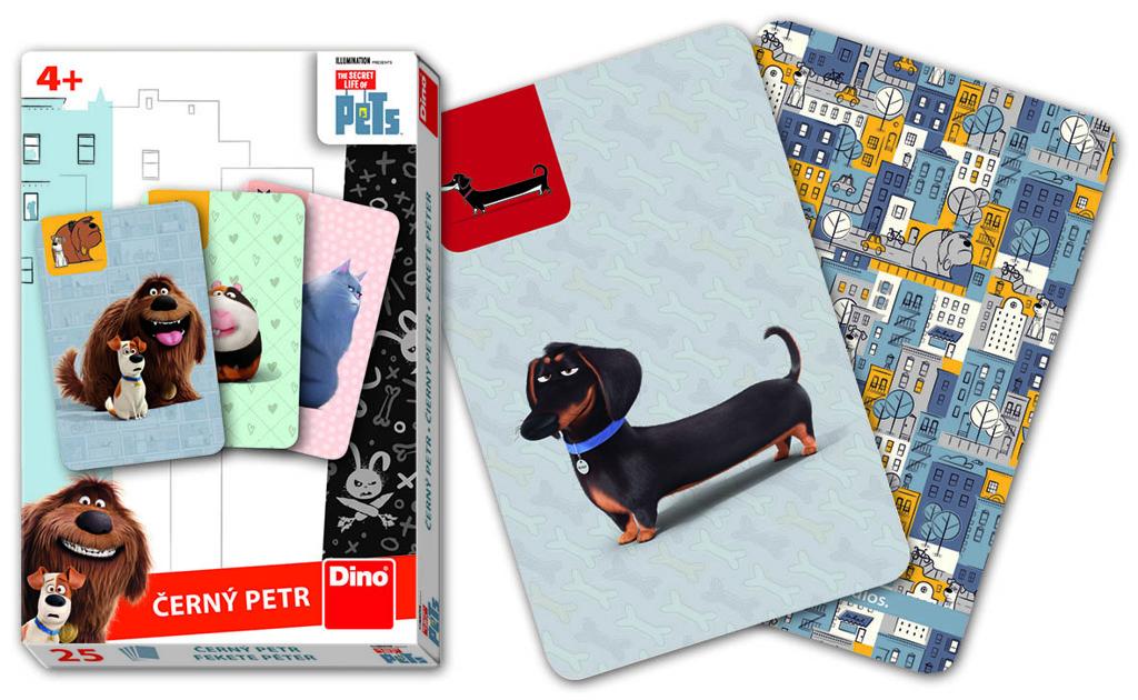 Karty Černý Petr - Tajný život mazlíčků