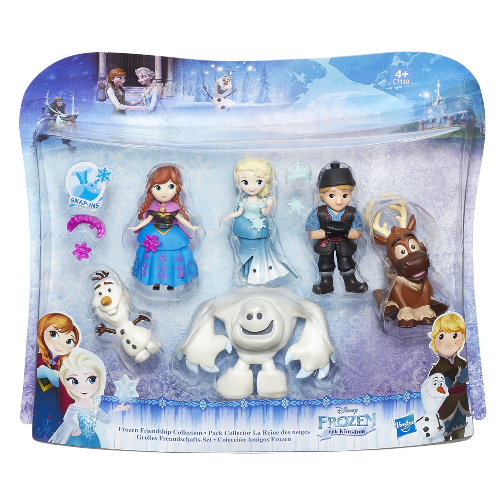 Hasbro Frozen Mini hrací set 6 postav z filmu