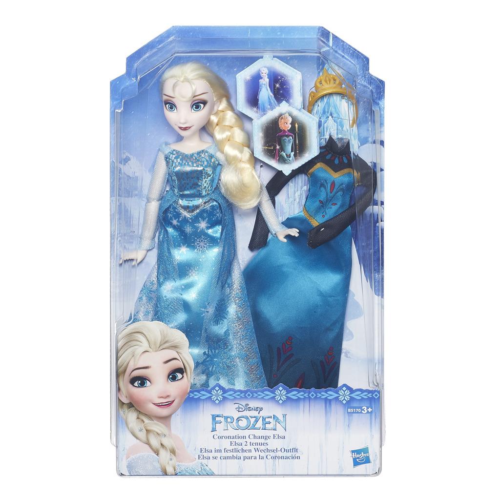 Frozen panenka Elsa s náhradními šaty