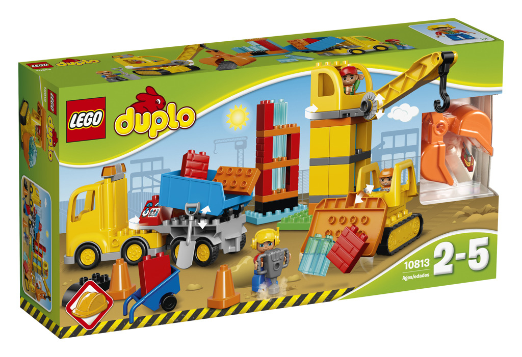 LEGO DUPLO 10813 Big Construction Site