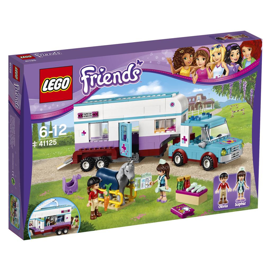 LEGO Friends 41125 Horse Vet Trailer