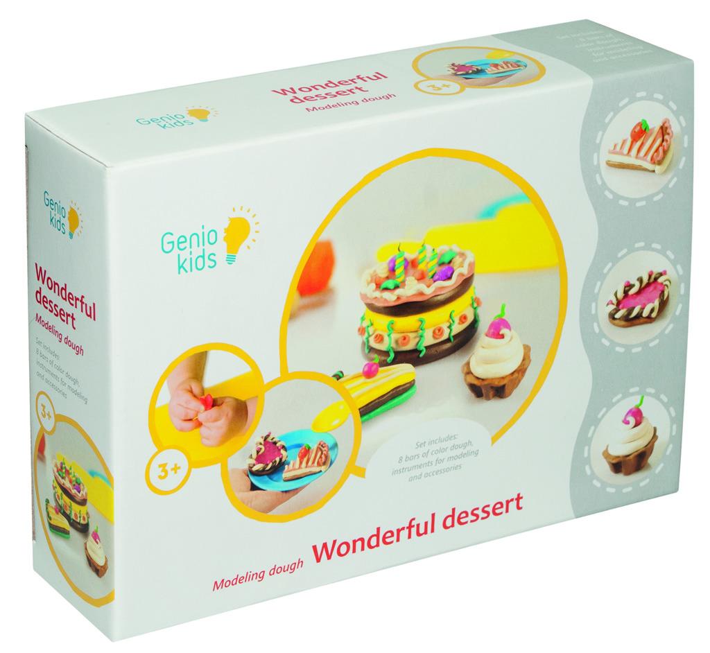 Modelína - kreativní sada Báječné dortíky