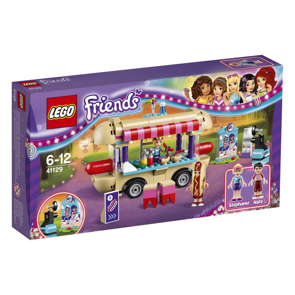 LEGO Friends Dodávka s párky v rohlíku v zábavním parku