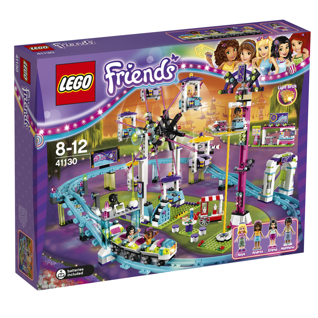 LEGO Friends Horská dráha v zábavním parku