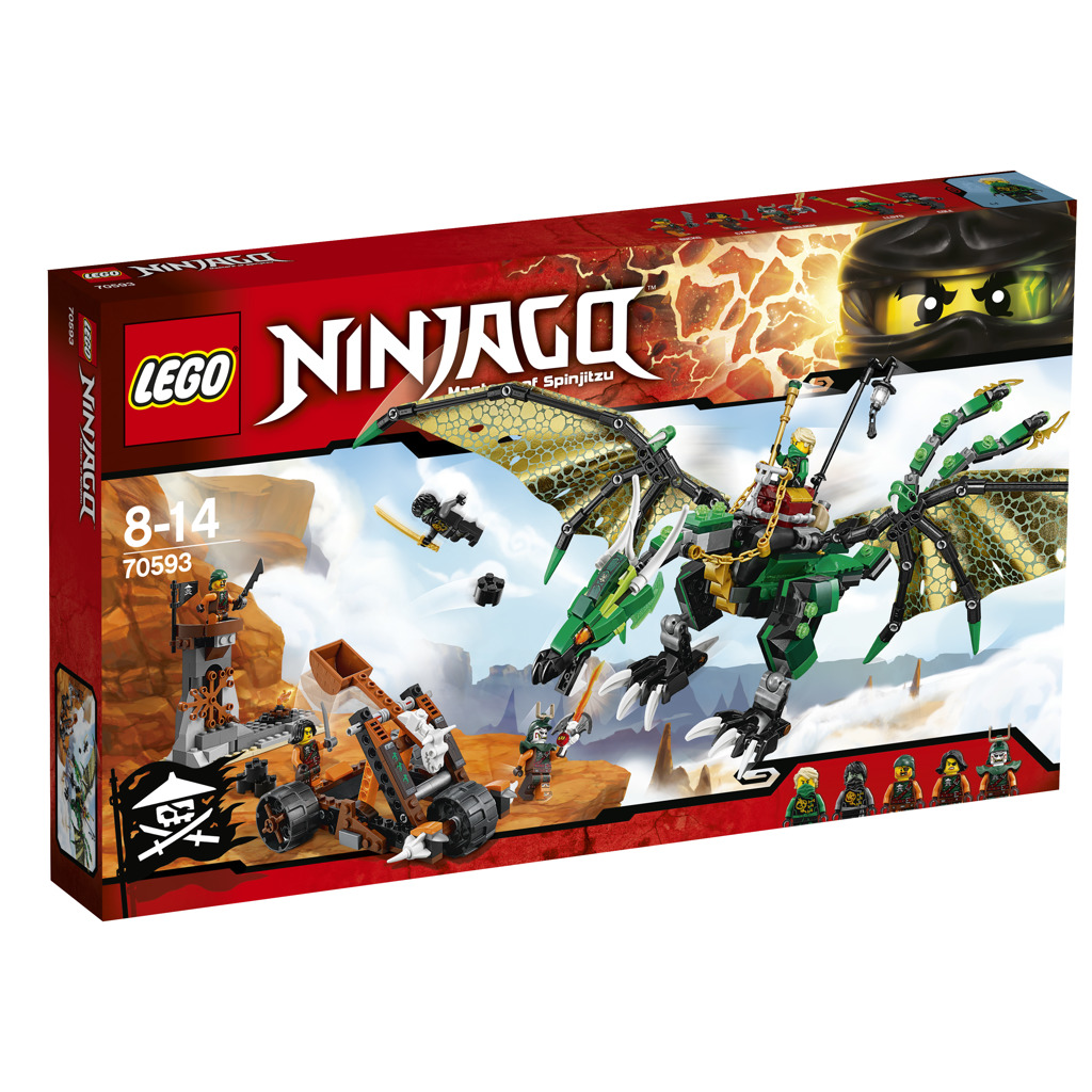 LEGO NINJAGO 70593 The Green NRG Dragon