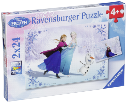 Ravensburger Sisters Always 2 X 24 pcs Puzzle Disney Frozen