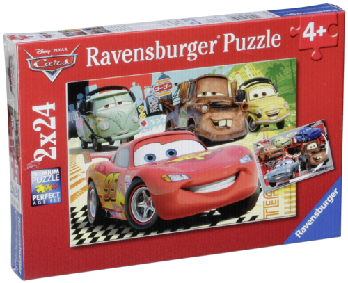 Ravensburger New Adventure Cars 2 X 24 pcs Puzzle Disney Pixar