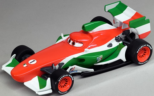 Auto Carrera GO 61194 Disney Cars 2 Francesco Bernouli