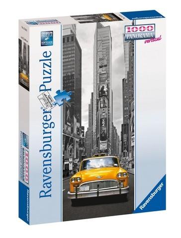 Puzzle Ravensburger New York Taxi Panorama 15119, 1000 dílků