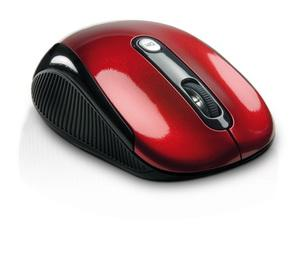 SWEEX bezdrôtová optická myš USB Red Basics