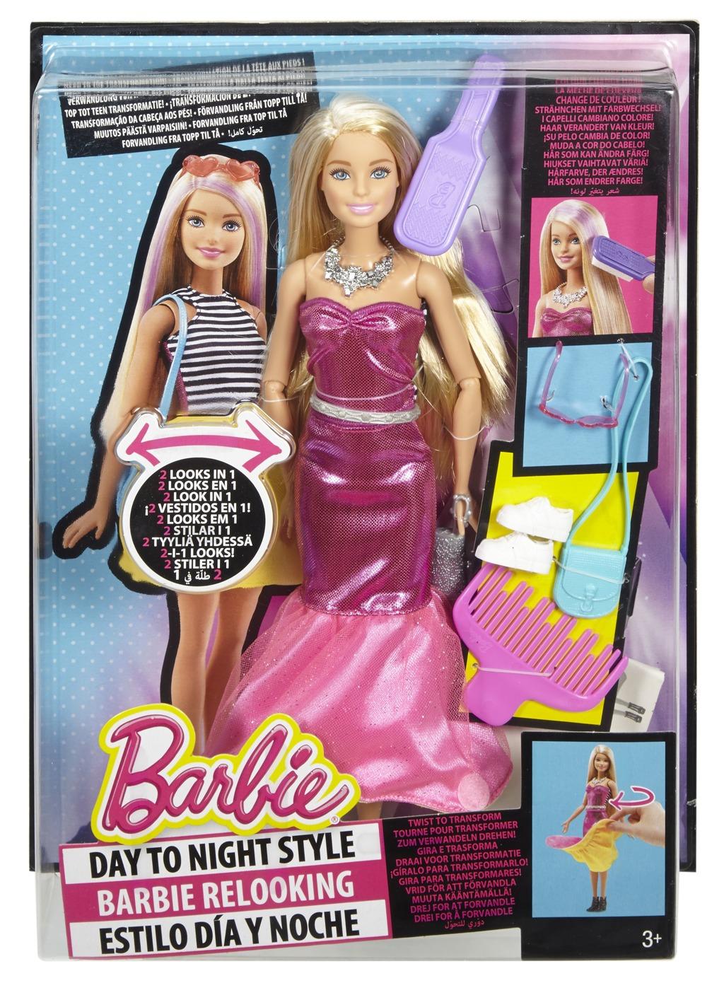 Barbie Stylová ve dne i večer