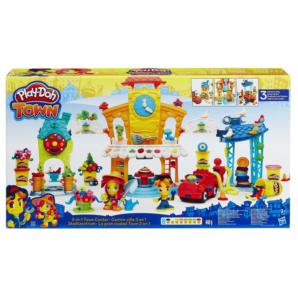 Play-Doh town 3 v 1 centrum města