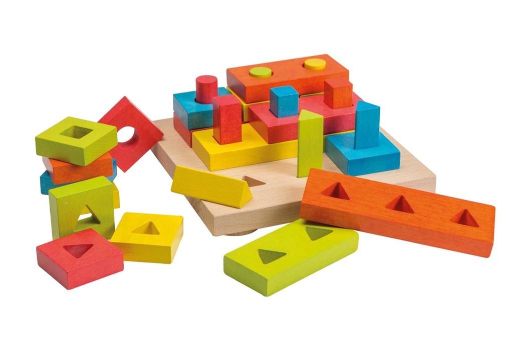 Dřevěné 3D pozzle + vkládačka