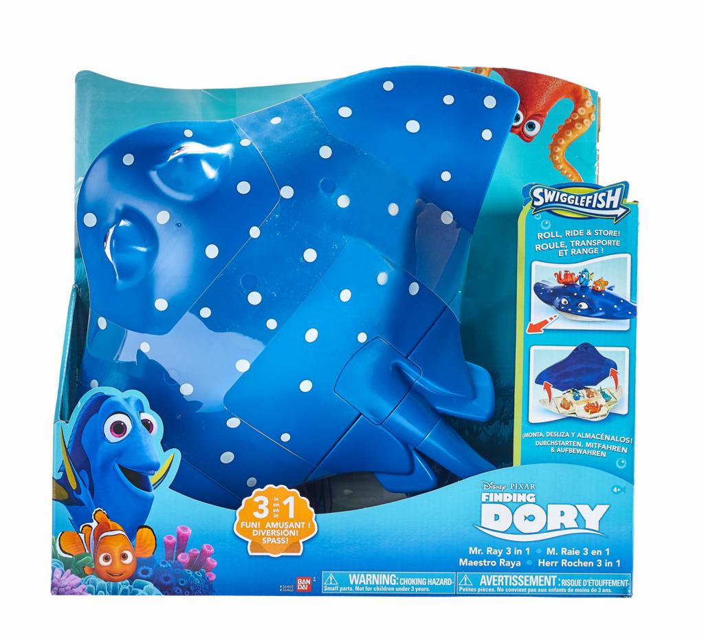 Hledá se Dory Mr.Ray, playset 3v1