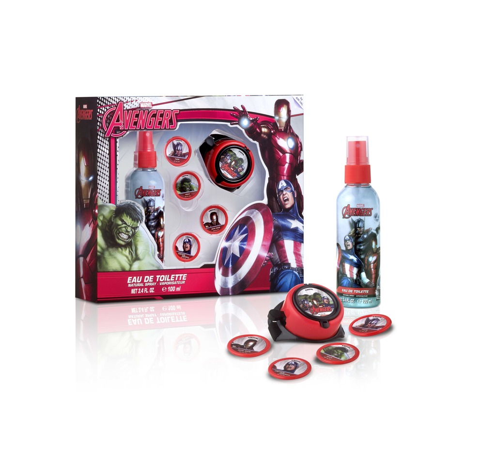 Body spray Avengers 100ml raketomet + disky