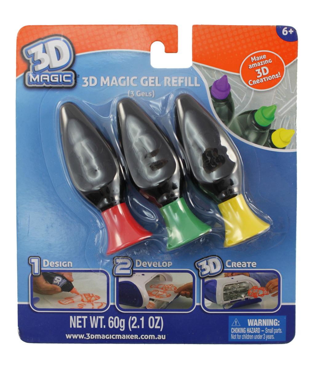 3D Magic náhradní náplň 3ks