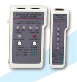 LAN Tester pro sítě UTP/STP včetně remote adap.