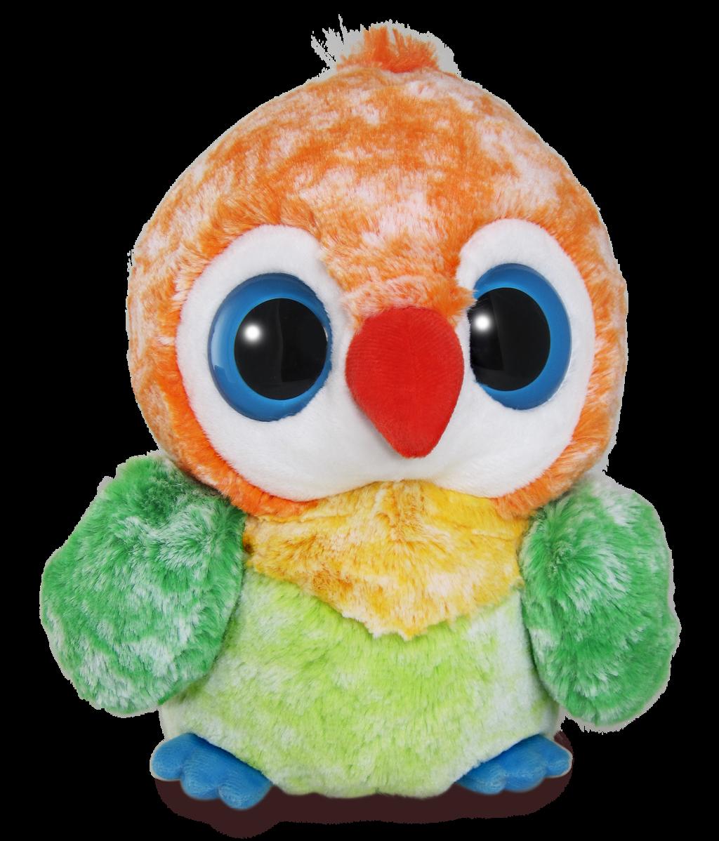 Yoo Hoo papoušek Agapornis 30 cm