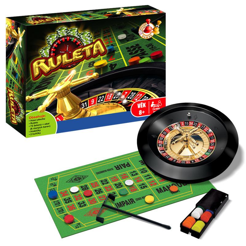 Stolní hra - Ruleta