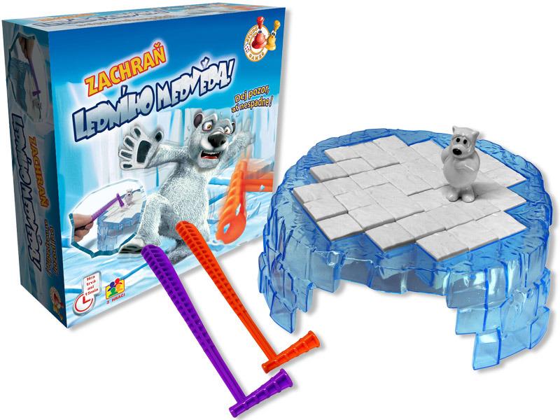 Cestovní hra Zachraň ledního medvěda