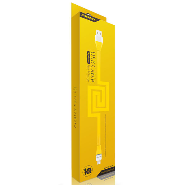 iMyMax Lovely Lighting Cable, Yellow