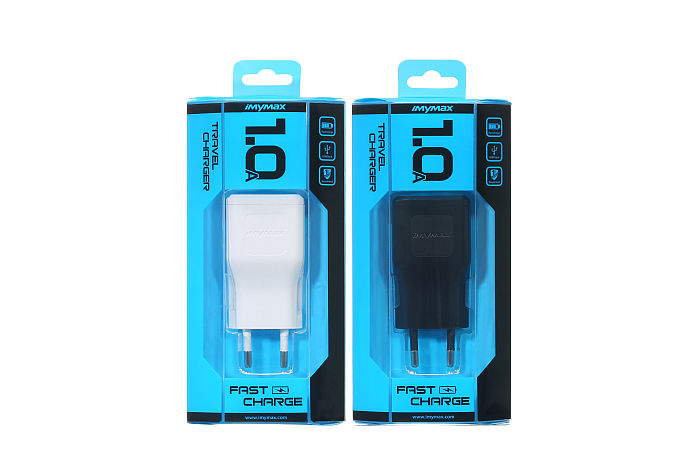 iMyMax Travel Charger 1A (USB) White