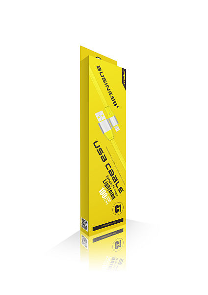iMyMax Business Plus Lighting Cable, Yellow