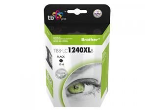 Ink. kazeta TB kompat. s Brother LC1240BK 100% new