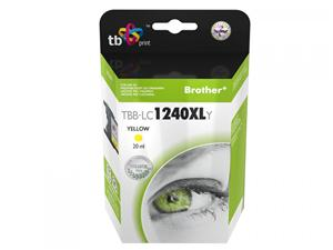 Ink. kazeta TB kompat. s Brother LC1240Y 100% new