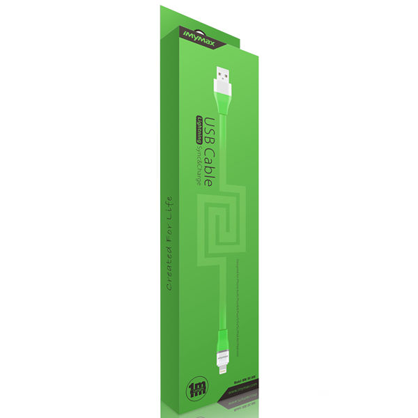 iMyMax Lovely Lighting Cable, Green
