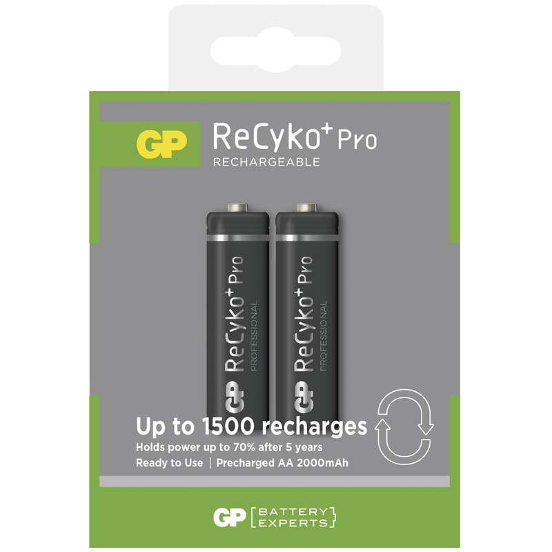 GP AA ReCyko+ Pro PROFESSIONAL series, nabíjecí, 2 ks