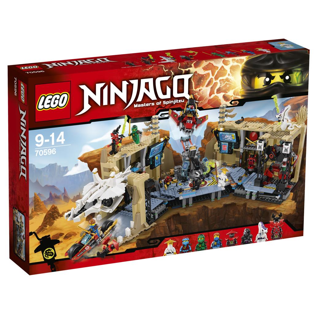 Lego Ninjago Zmatek v jeskyni se Samurajem X