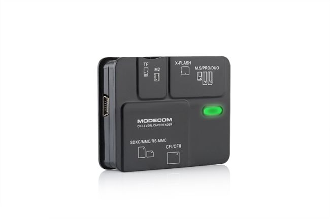 Čtečka paměťových karet Modecom CR Level2 - externí