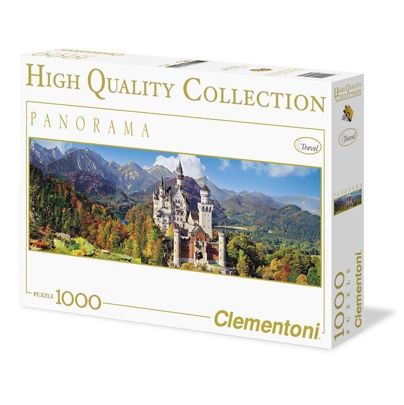 Puzzle Panorama 1000 dílků Neuschwanstein